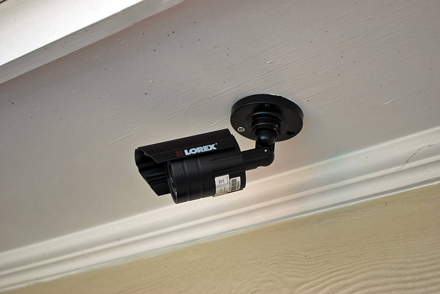 swimming pool security camera